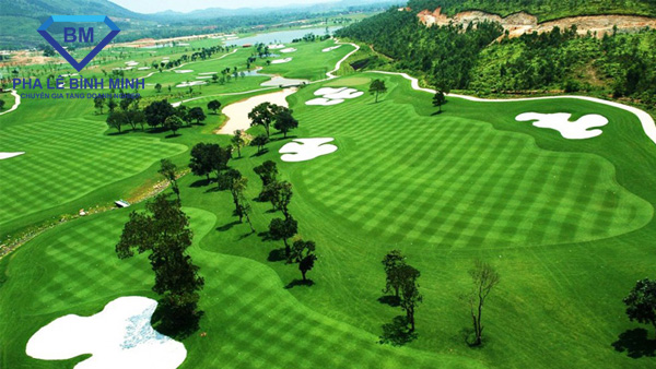 sân golf resort