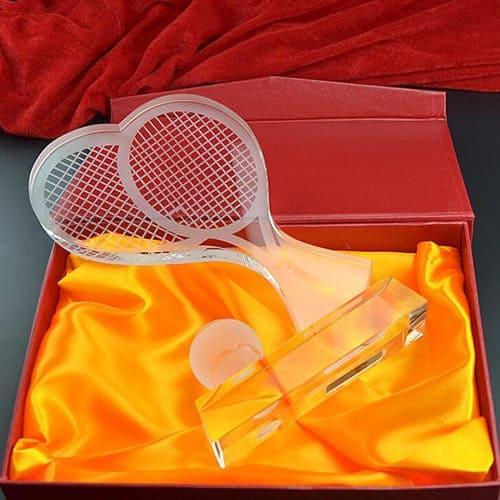 cúp tennis pha lê